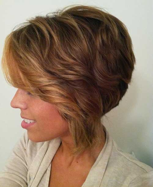 Ombre Bob Hairstyles with Color