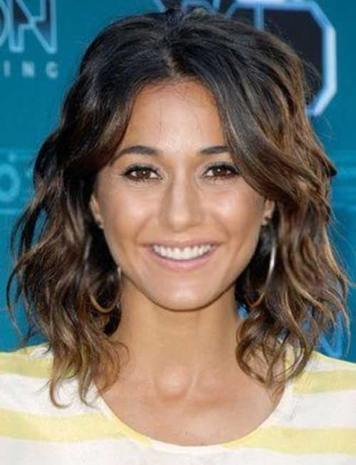 Ombre Long Wavy Bob Hair