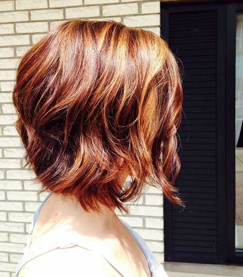 Pictures Of Wavy Bob Hair Cuts