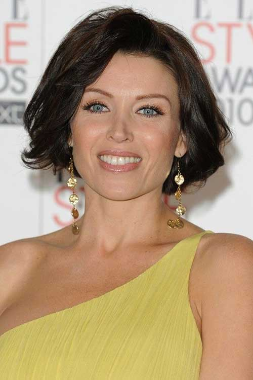 Short Fine Bob Hairstyles Images