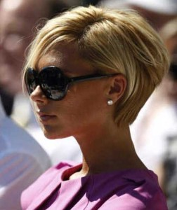 Victoria Beckham Blonde Short Bob Cut Ideas