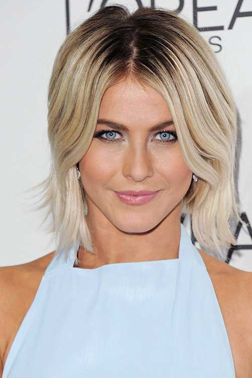 Wavy Blonde Bob Haircut Ideas