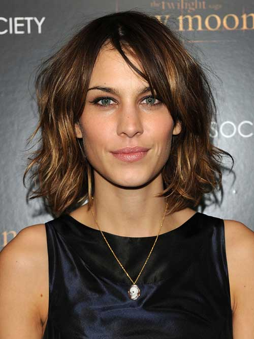 Wavy Bob Hairstyles Image for Girl