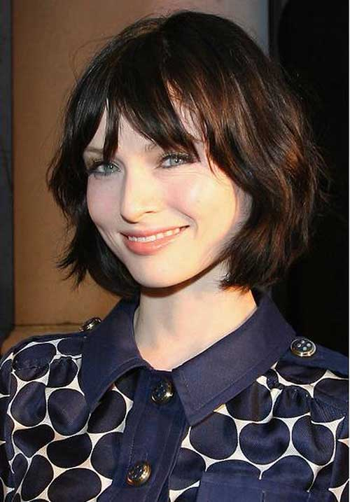 Trendy Dark Bob Hairstyles