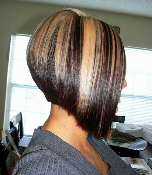 Aline Highlighted Bob Haircuts