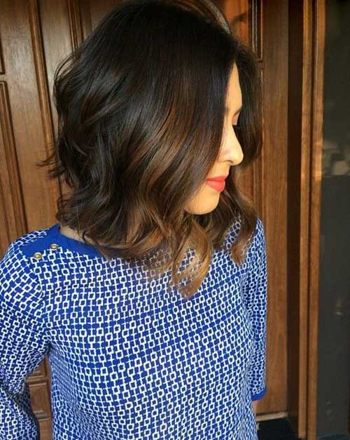 Aline Long Bob Haircuts