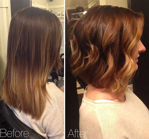 Aline Wavy Bob Hair Ideas