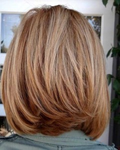 Back View Of Blonde Bob Haircuts