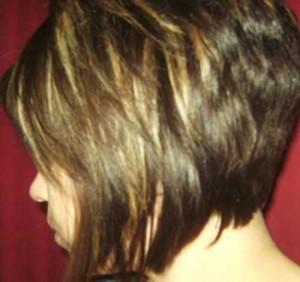 Back View Of Layered Bob Haircuts