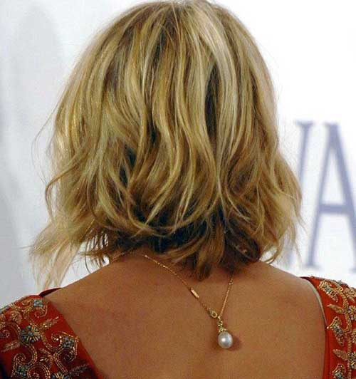 Back View Of Low Lighted Bob Haircuts