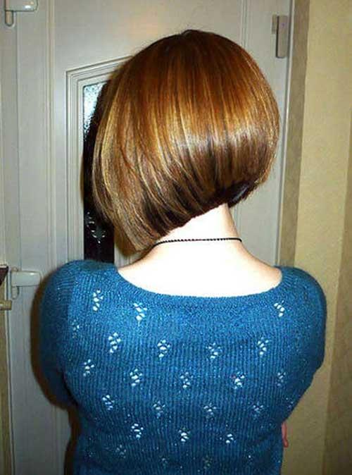 Back View Of Short Bob Hair