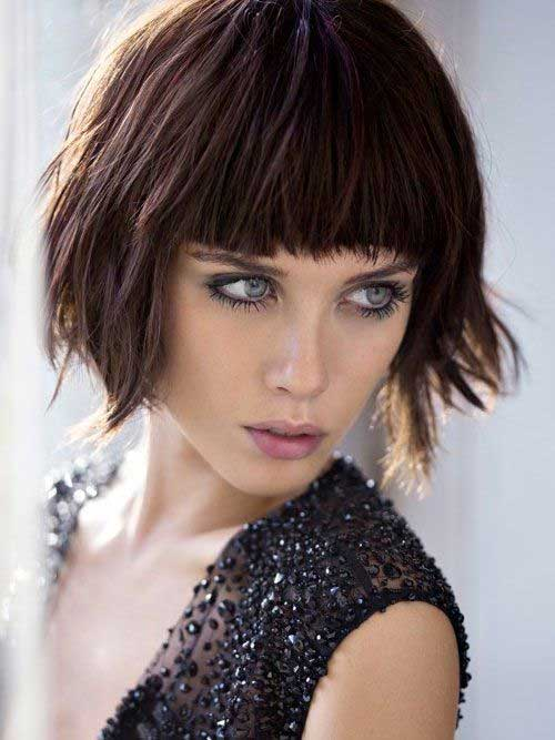 Best Blunt Bob with Bangs Ideas