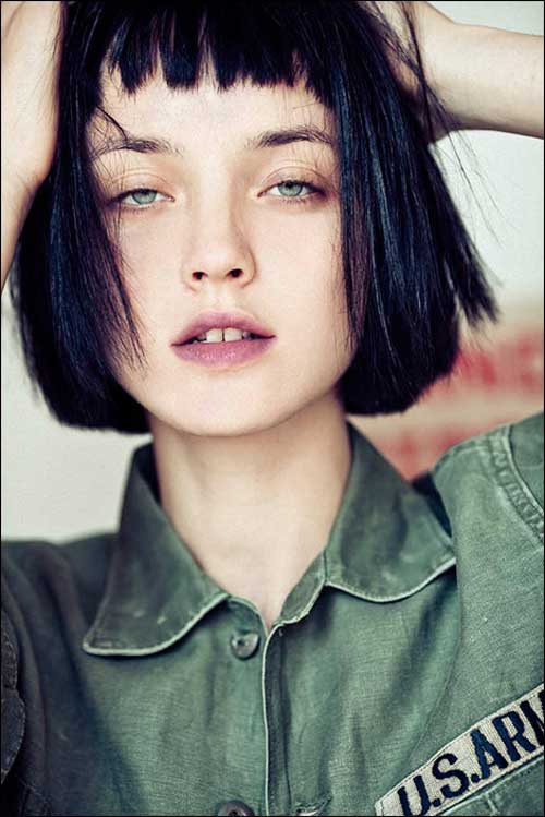 Best Straight Blunt Bob Hair