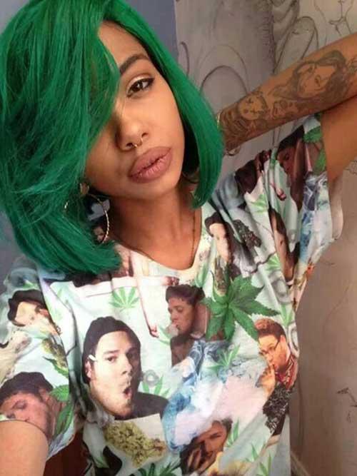 Black Girl Bob Cut Hairstyles
