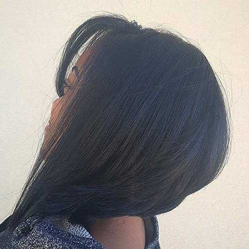 Black Women Inverted Bob Hairstyles 2014
