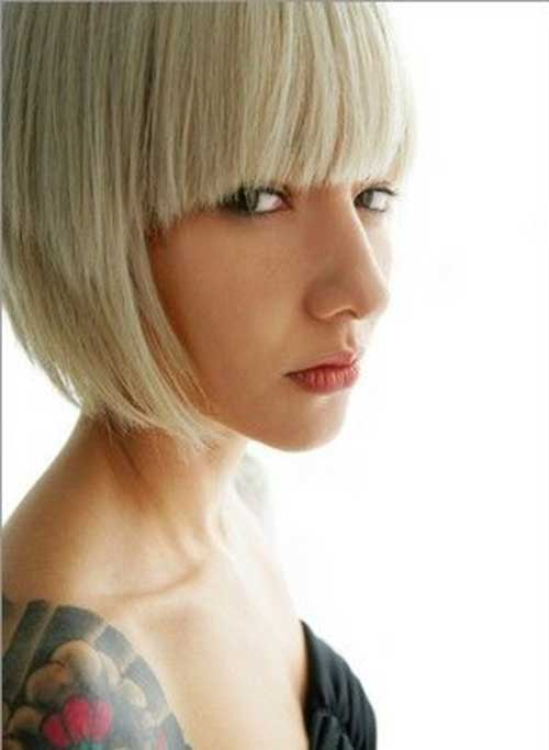 Bleach Bob Hair Bangs Style with Fringe