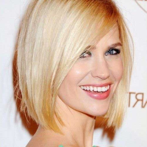 Blonde Blunt Bob Haircut