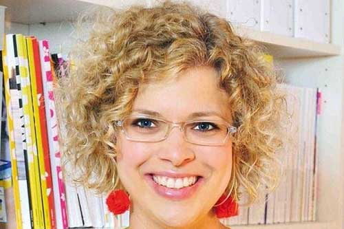Blonde Curly Bob Hairstyles Ideas 2015