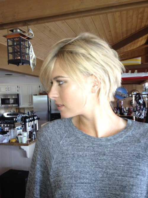 Blonde Hairstyles Bobs Side View Pictures