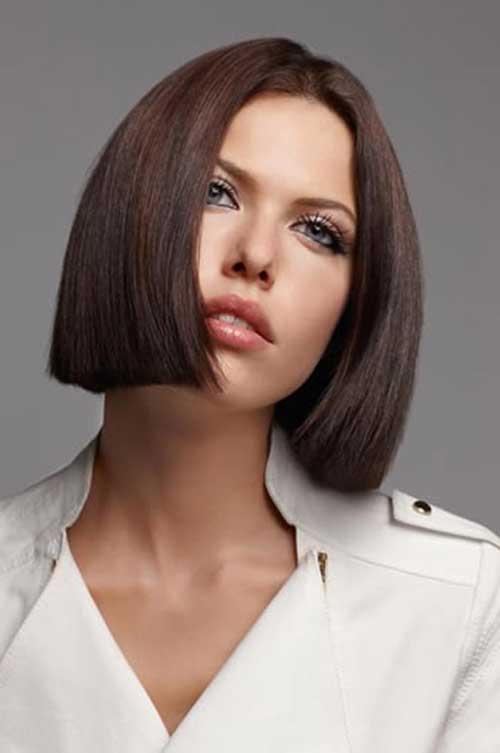Straight Blunt Bob Haircuts