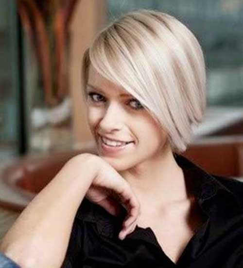 Blonde Bob Haircuts for Fine Hair 2014