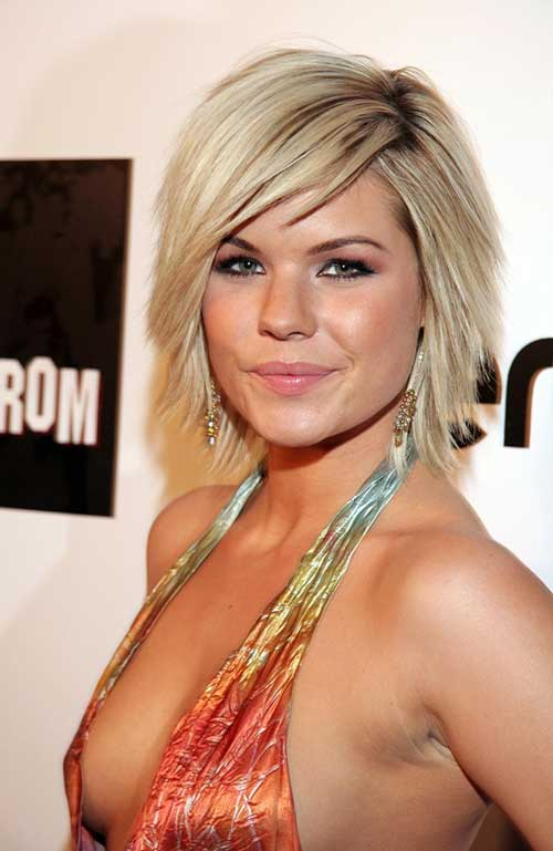 10 Bob Hairstyles With Bangs For Round Faces | Bob