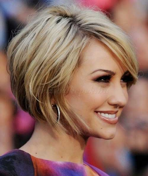 Casual Bob Hairstyles with Fringe