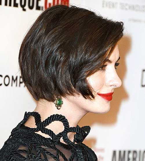 Chic Dark Bob Hair