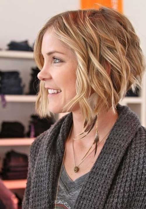 Chic Soft Curly Bob Haircuts