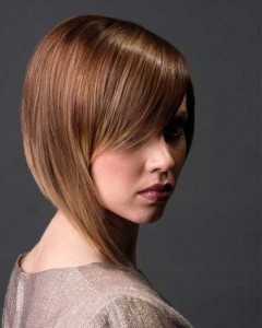 Best Thick Choppy Bob with Side Bangs