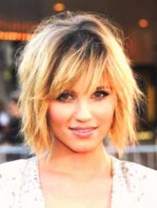Choppy Layered Bob Hairstyles For Thick Hair Type