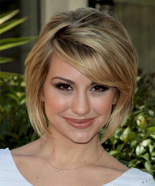 Concave Casual Layered Bob Hairstyle