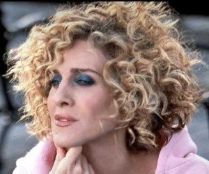 Curly Bob Thick Blonde Hairstyles