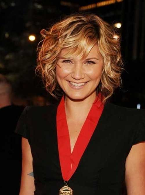 Curly Classy Bob Hairstyles 2014-2015