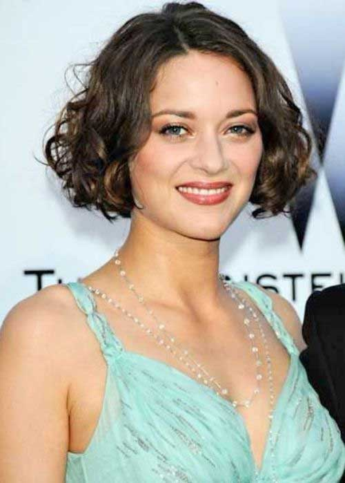 Curly Nice Bob Hairstyles 2014-2015