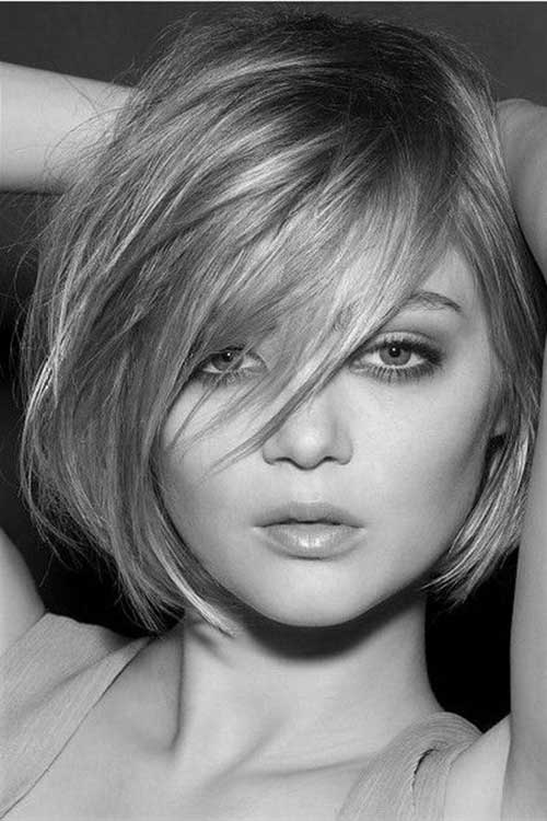 Cute Bob Hairstyles with Fringe
