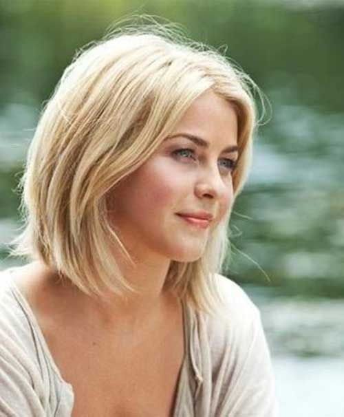 Cute Ladies Blonde Bob Hairstyles