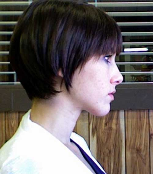 Dark Pixie Bob Hairstyles
