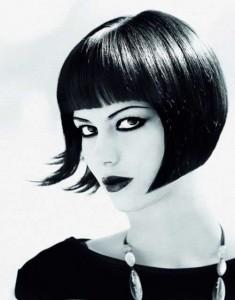 French Bob Hair Cut with Fringe