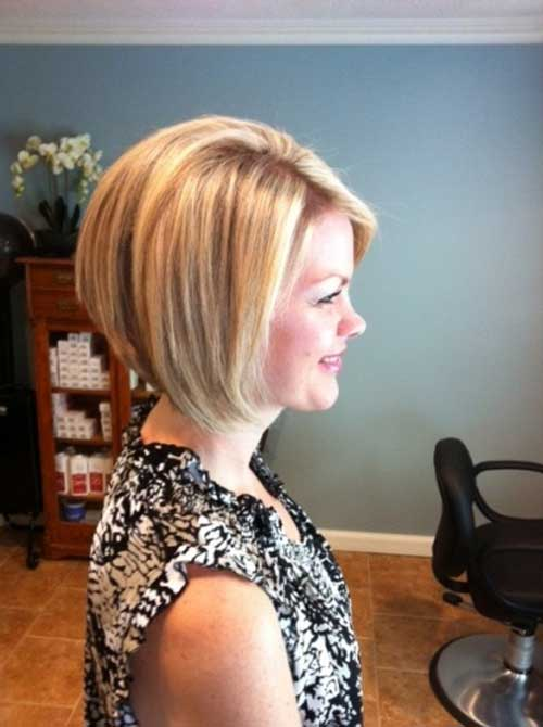 Hairstyles For Inverted Bob Side View