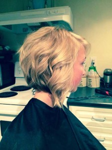 New Inverted Curly Bob Hairstyles
