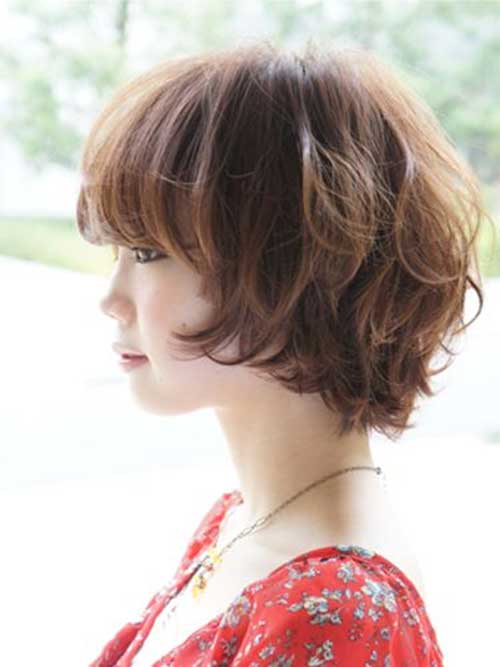 Japanese Wavy Bob Haircut