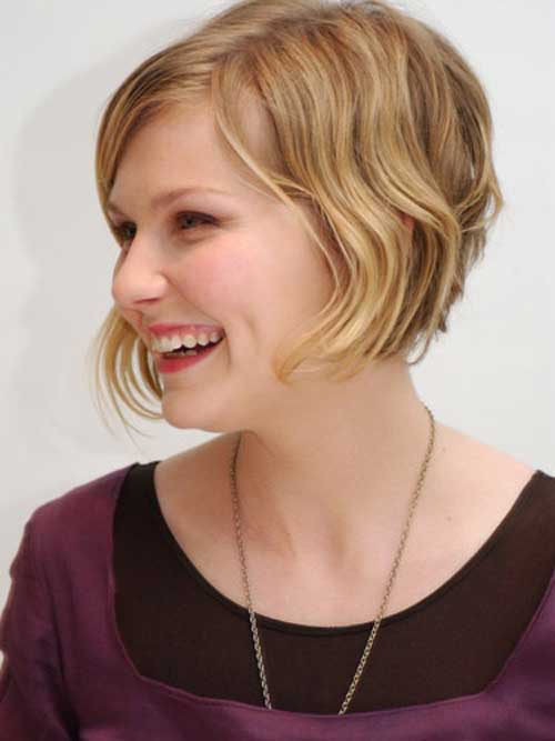 Ladies Short Wavy Bob Hairstyles