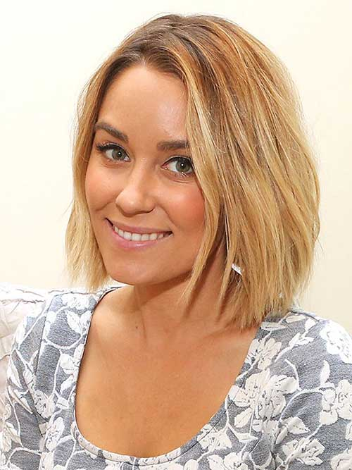 Lauren Conrad Blonde Bob Haircuts