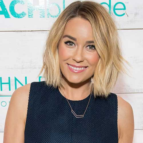 Lauren Conrad Choppy Bob Haircuts