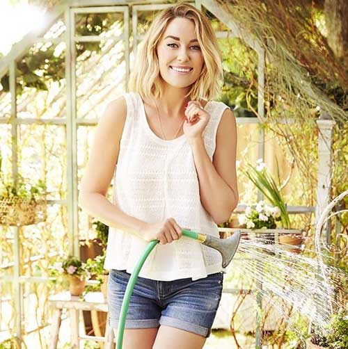 Lauren Conrad Long Bob Idea