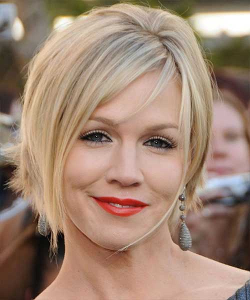 Layered Blonde Bob Haircuts For Round Faces