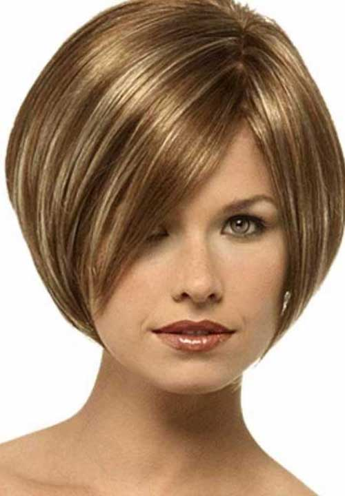 Layered Inverted Short Bob Hairstyles
