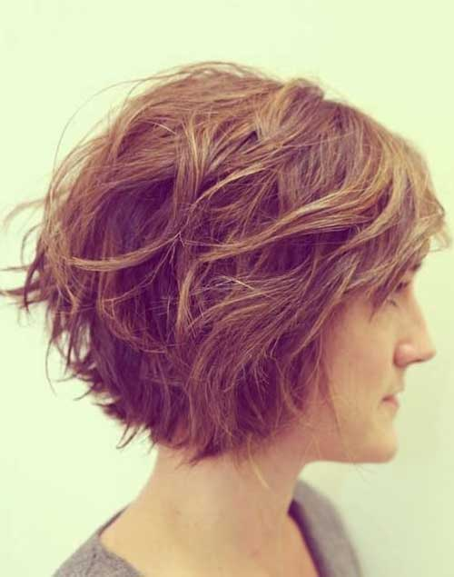 Layered Thick Bob Hairstyles 2014
