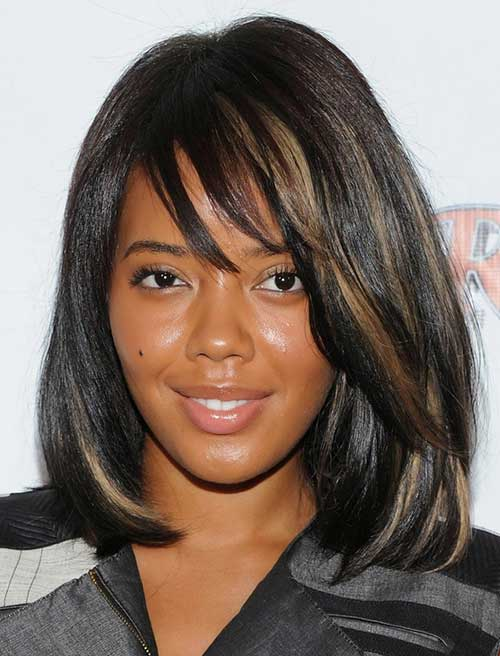 Long Bob Hairstyles for Black Women 2014-2015